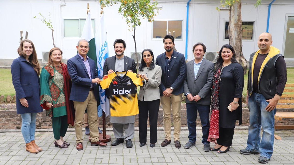 UNHCR, Peshawar Zalmi announce partnership ahead of Pakistan Super League Season Five