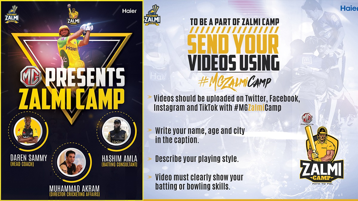 Peshawar Zalmi announces Zalmi Digital Camp to find young talented cricketers