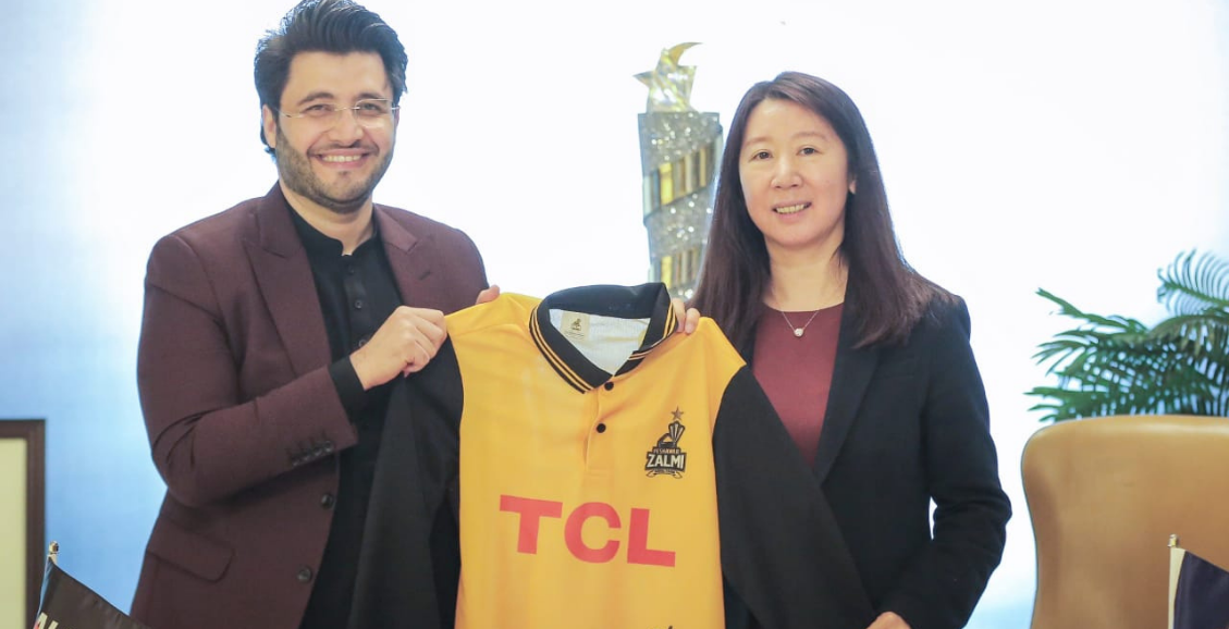 PESHAWAR ZALMI & TCL'S PARTNERSHIP AGREED FOR 4TH CONSECUTIVE YEAR