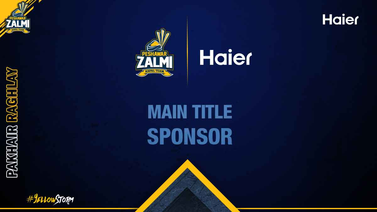 Peshawar Zalmi Announced Haier as ''Main Title Sponsor
