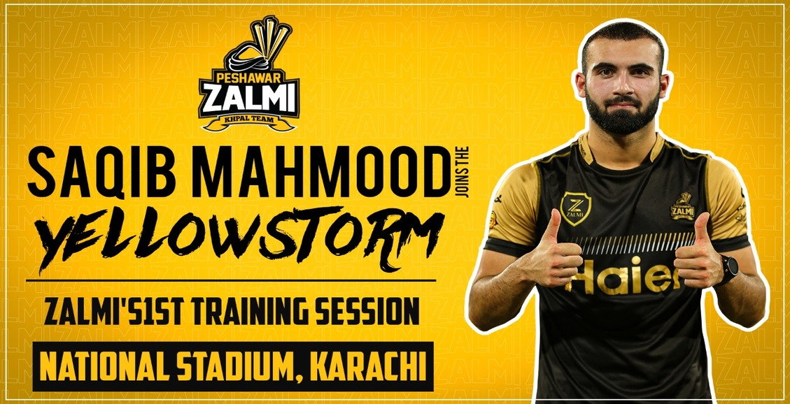 England Pacer Saqib Mahmood Joins Zalmi Squad in Karachi ahead of PSL 5 Playoffs