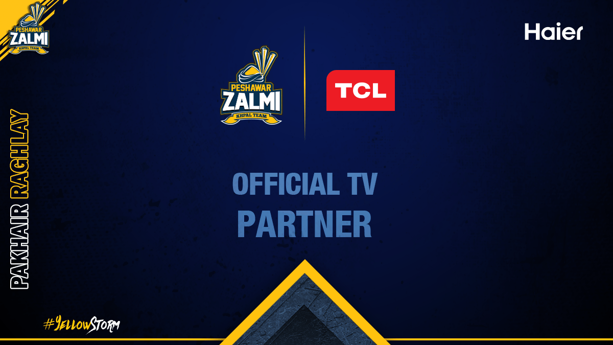Announcing TCL as our Official TV Partner for PSL 5