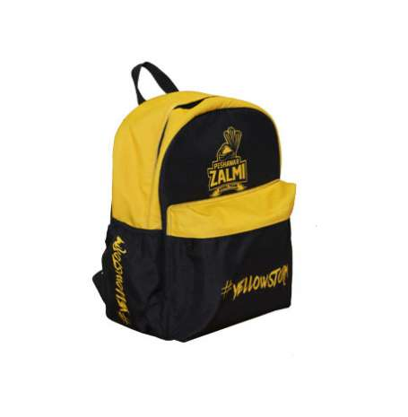 Zalmi Official Kids Backpack (Yellow & Black)
