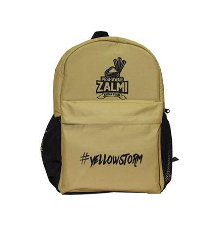 Zalmi Official Kids Backpack (Gold & Black)