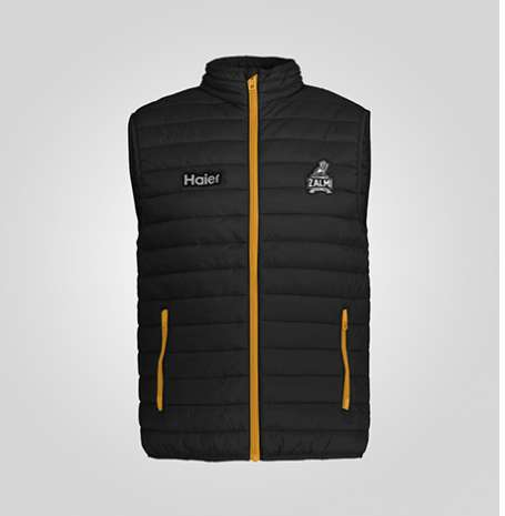 Zalmi Official Sleeveless Puffer Jacket